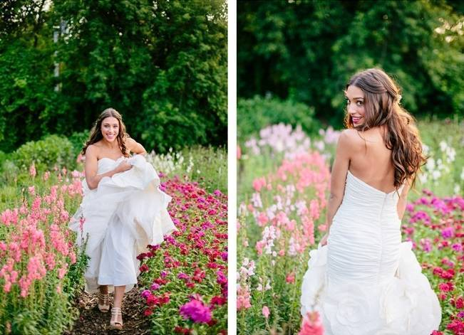 Wildflower Bridal Inspiration at Stray Cat Flower Farm {The Light + Color} 6