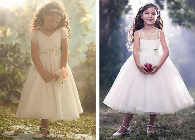 Aldred Angelo sleeping beauty and snow white inspired flower girl dresses