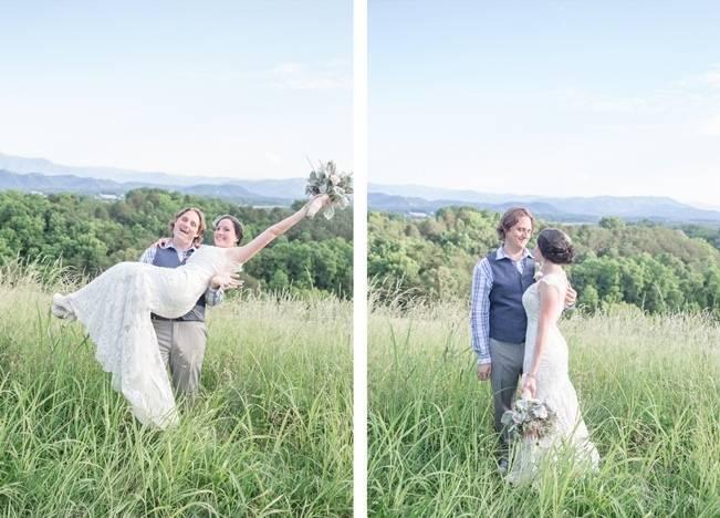 DIY Wedding in the Smoky Mountains {Star Noir Studio} 14