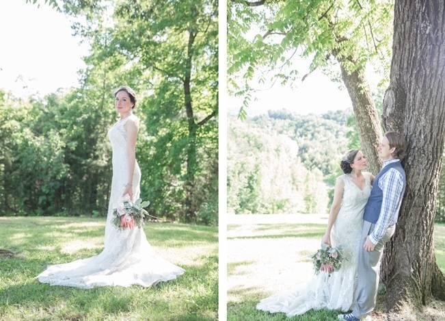 DIY Wedding in the Smoky Mountains {Star Noir Studio} 16