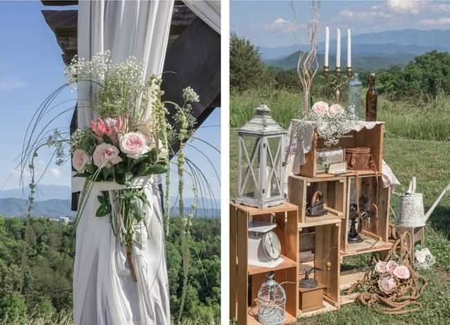 DIY Wedding in the Smoky Mountains {Star Noir Studio} 9