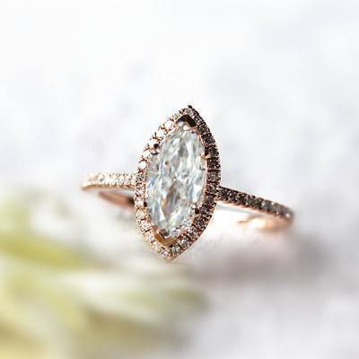 Moissanite Engagement Rings: Info and Inspiration