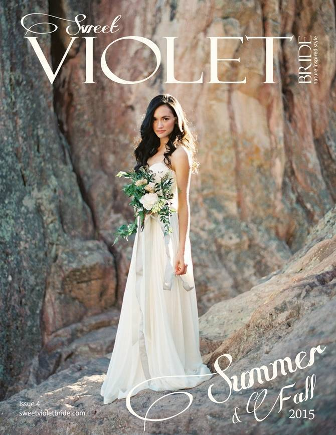 Sweet Violet Bride - Issue 4 Cover fb