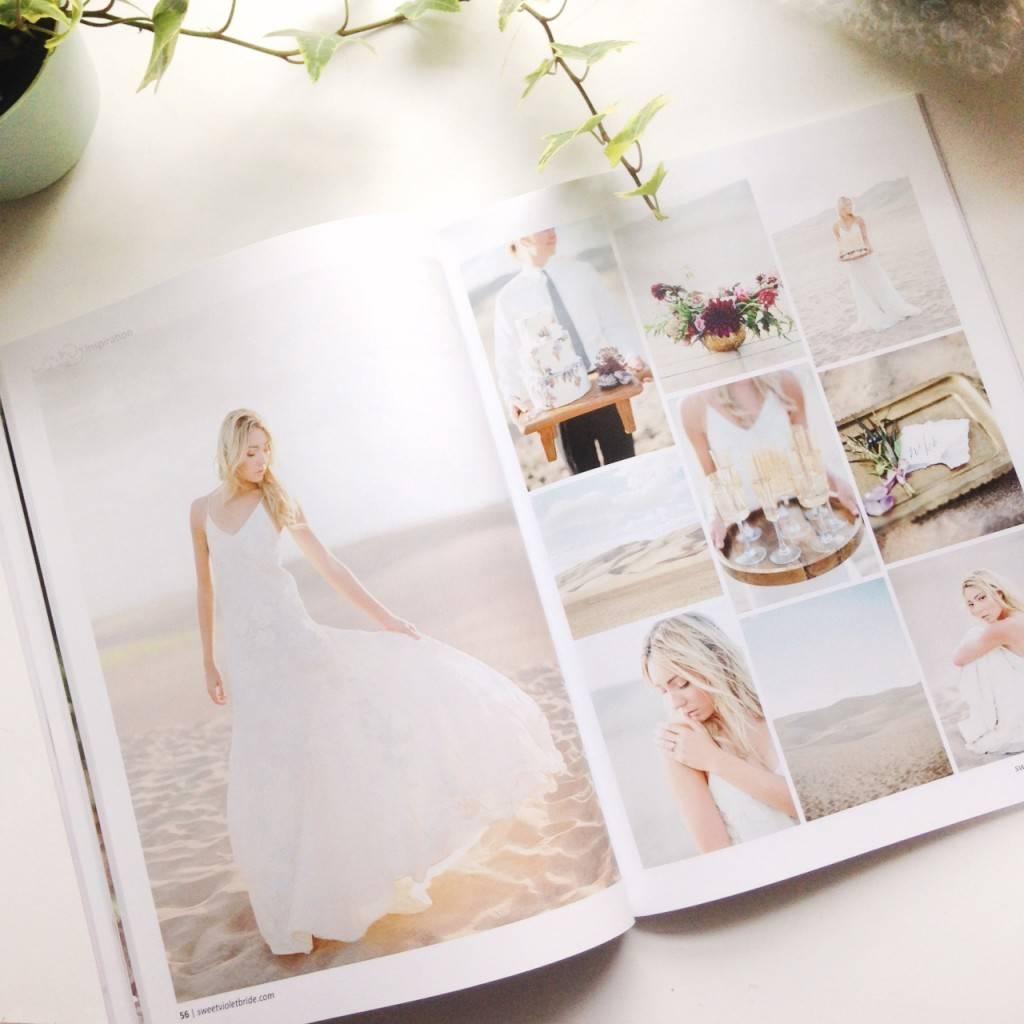 Issue 4 Sweet Violet Bride