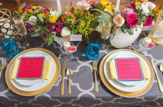 Colorful + Bright Styled Shoot {Thompson Pictures} 9