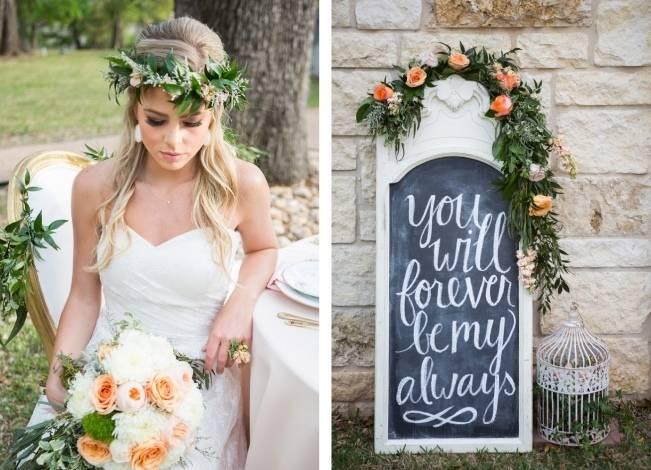 Peach + Blush Garden Wedding Inspiration {Shelly Taylor Photography} 10