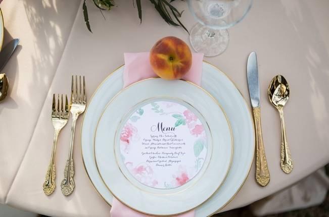Peach + Blush Garden Wedding Inspiration {Shelly Taylor Photography} 15