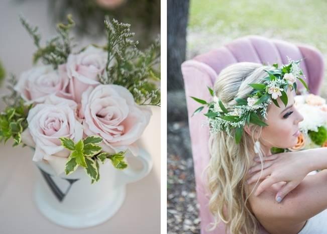 Peach + Blush Garden Wedding Inspiration {Shelly Taylor Photography} 16