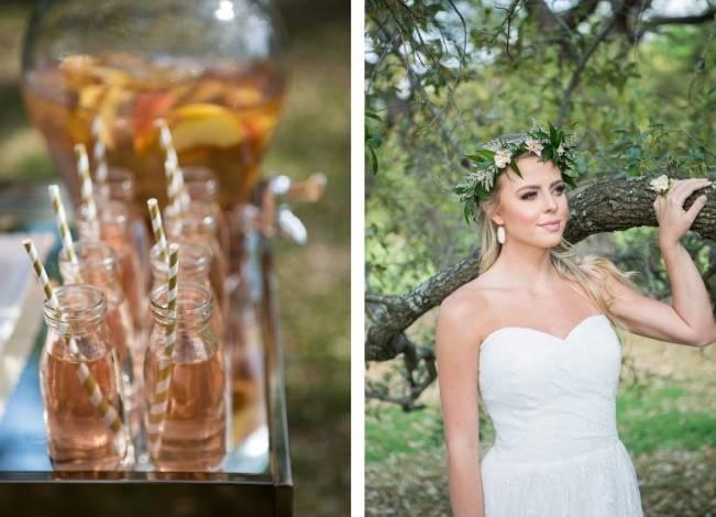 Peach + Blush Garden Wedding Inspiration {Shelly Taylor Photography} 2