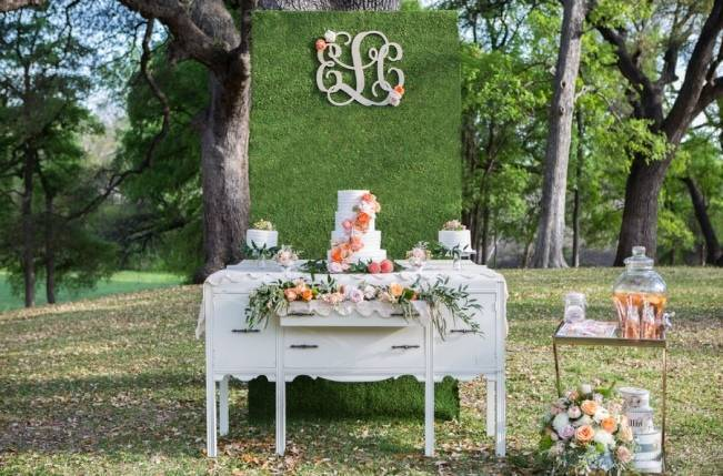 Peach + Blush Garden Wedding Inspiration {Shelly Taylor Photography} 3