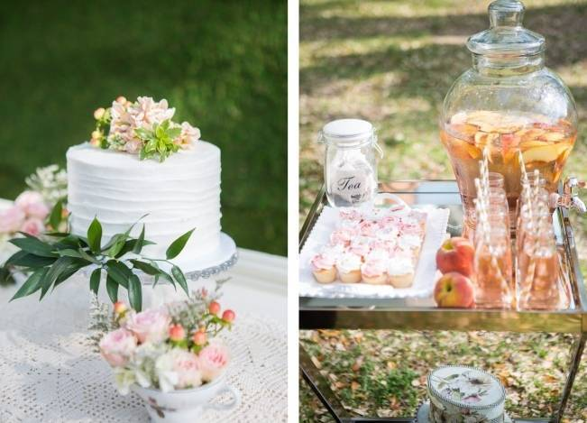 Peach + Blush Garden Wedding Inspiration {Shelly Taylor Photography} 4