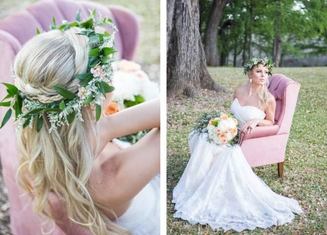 Peach + Blush Garden Wedding Inspiration {Shelly Taylor Photography} 8