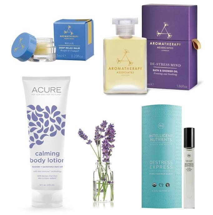 Products to help calm, relax and destress