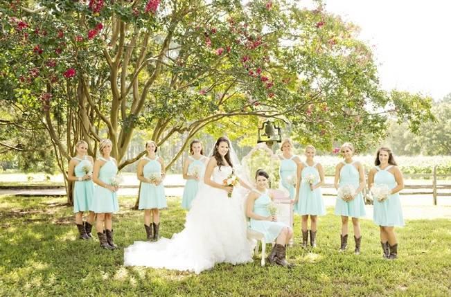 Southern Vintage Barn Wedding at Starrsville Plantation {Andie Freeman Photography} 10