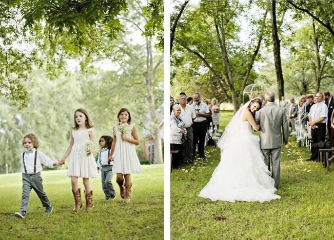 Southern Vintage Barn Wedding at Starrsville Plantation {Andie Freeman Photography} 15