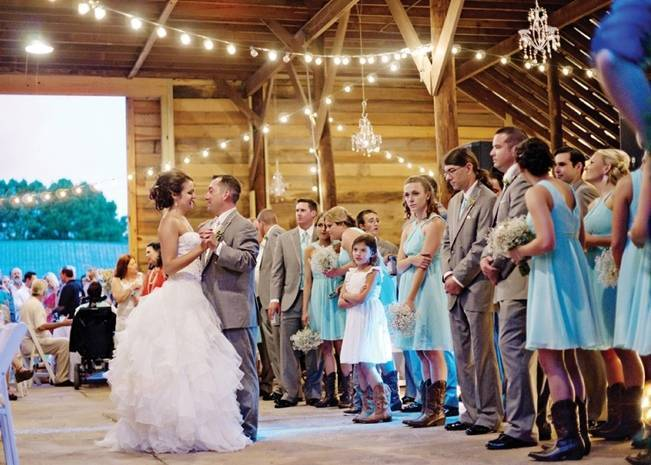 Southern Vintage Barn Wedding at Starrsville Plantation {Andie Freeman Photography} 30