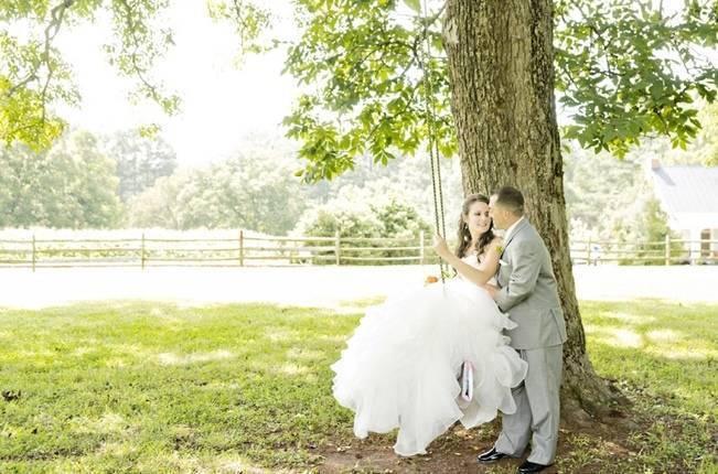 Southern Vintage Barn Wedding at Starrsville Plantation {Andie Freeman Photography} 8