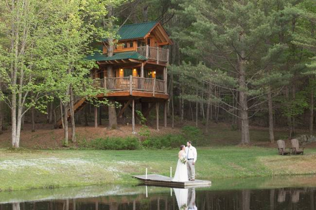 Vermont Treehouse Elopement {Somerby Jones Photography} 13