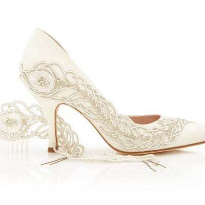 Spotlight: Q & A with Bridal Shoe Designer Emmy London