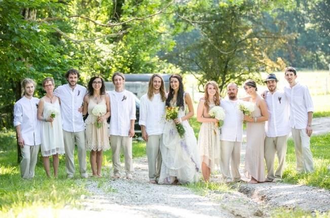 DIY Barefoot Summer Wedding {M and E Photo Studio} 1