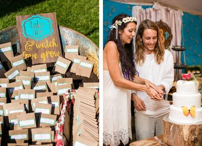 DIY Barefoot Summer Wedding {M and E Photo Studio} 25