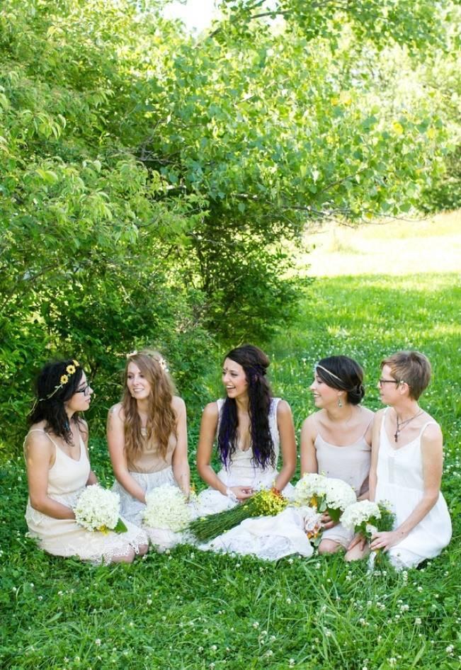 DIY Barefoot Summer Wedding {M and E Photo Studio} 5