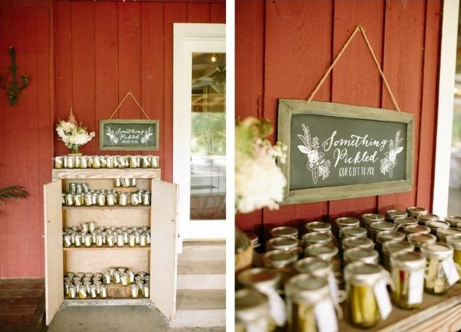 Light Blue Country Wedding with Rustic and DIY Details 22