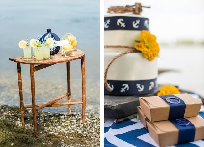 Love Sets Sail Vermont Lakeside Wedding Inspiration 4