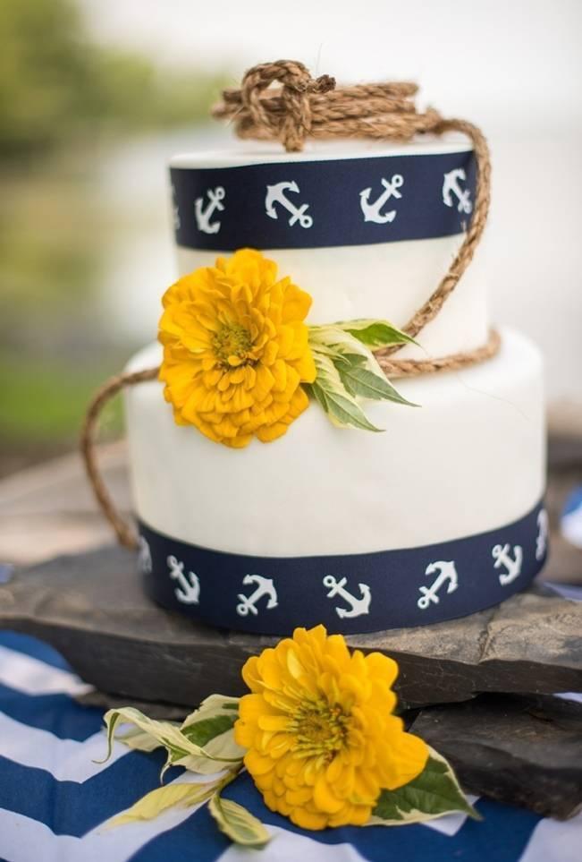 Love Sets Sail Vermont Lakeside Wedding Inspiration