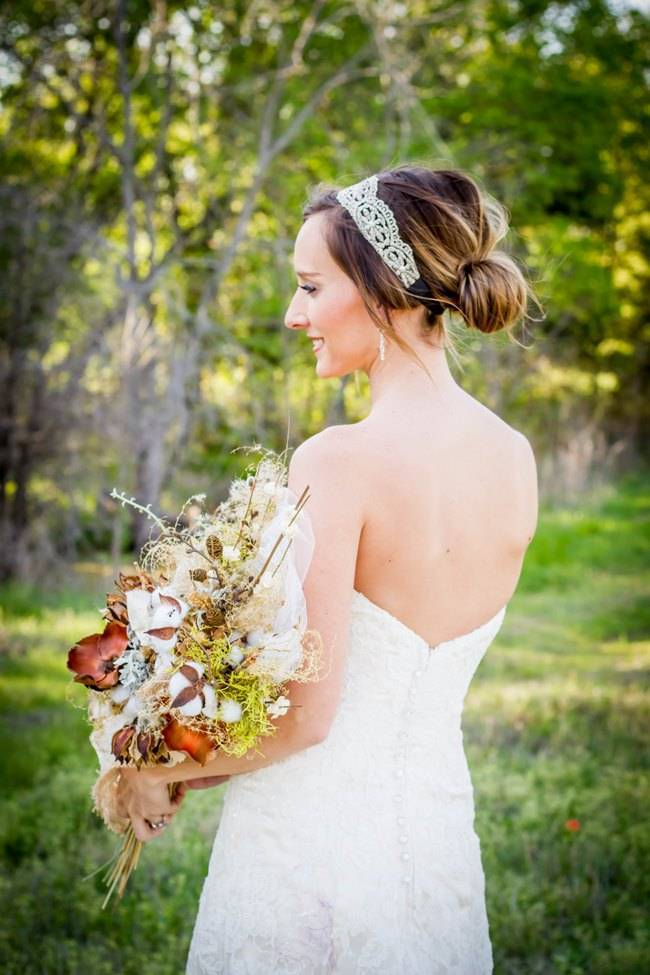 Natural Autumn Bridal Look {C.W. Photography} 2