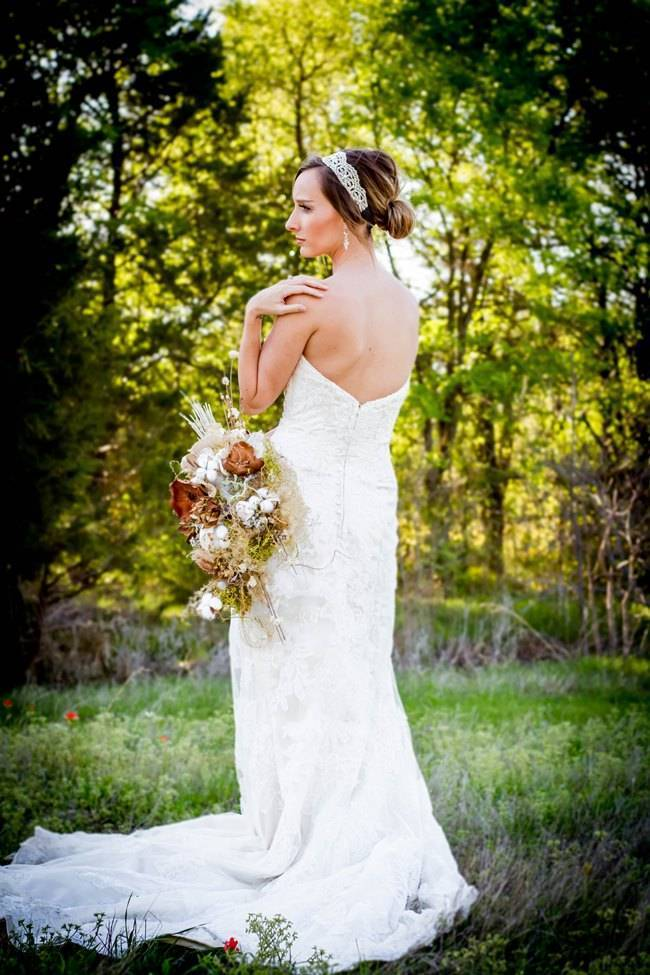 Natural Autumn Bridal Look {C.W. Photography} 3