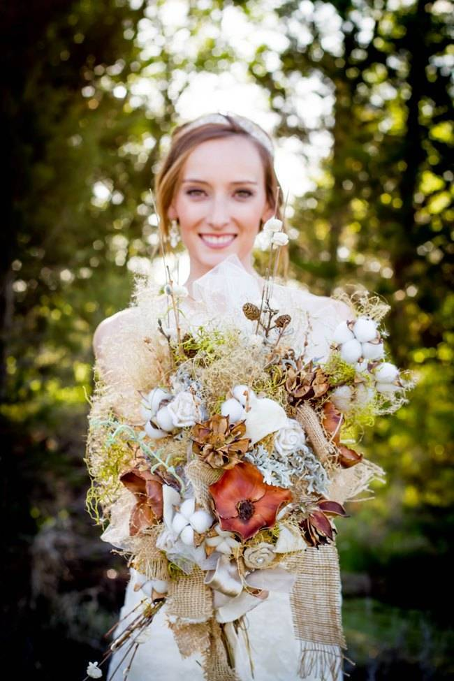 Natural Autumn Bridal Look {C.W. Photography} 5