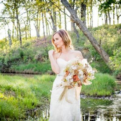 Natural Autumn Bridal Look {C.W. Photography OKC}