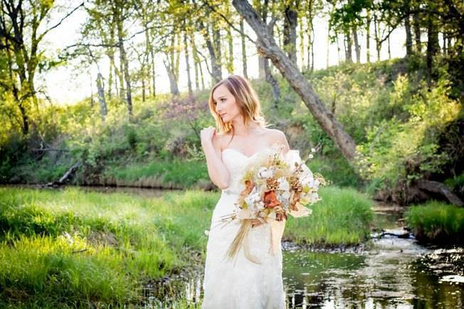 Natural Autumn Bridal Look {C.W. Photography} 7