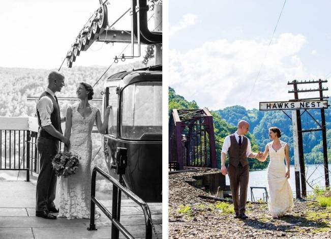 Nature Inspired wedding at Hawk's Nest State Park {Melissa Perella Photography} 16