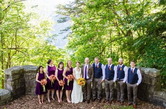 Nature Inspired wedding at Hawk's Nest State Park {Melissa Perella Photography} 20