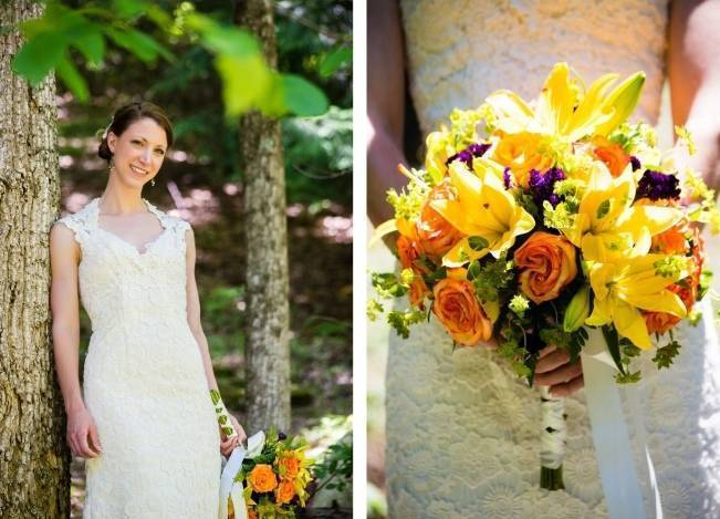 Nature Inspired wedding at Hawk's Nest State Park {Melissa Perella Photography} 6