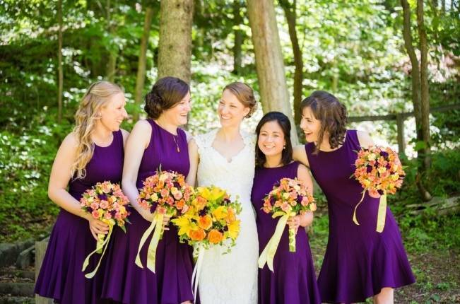 Nature Inspired wedding at Hawk's Nest State Park {Melissa Perella Photography} 9