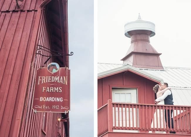 Rustic Pennsylvania Sunflower Wedding at Friedman Farms 19