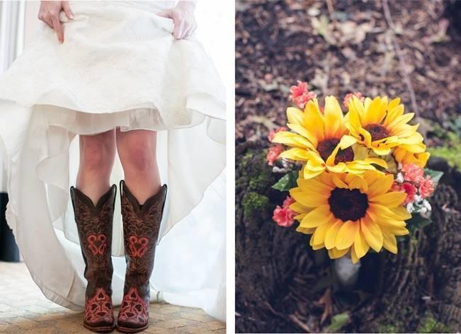 Rustic Pennsylvania Sunflower Wedding at Friedman Farms 4