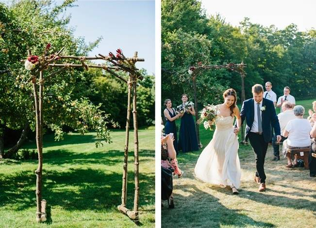 Chic Vermont Mountain Wedding {Colette Kulig Photography} 8