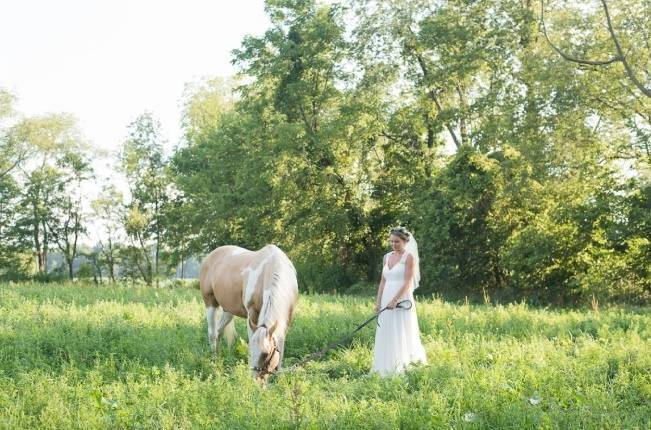 French Country Toile Inspired Anniversary Shoot 1