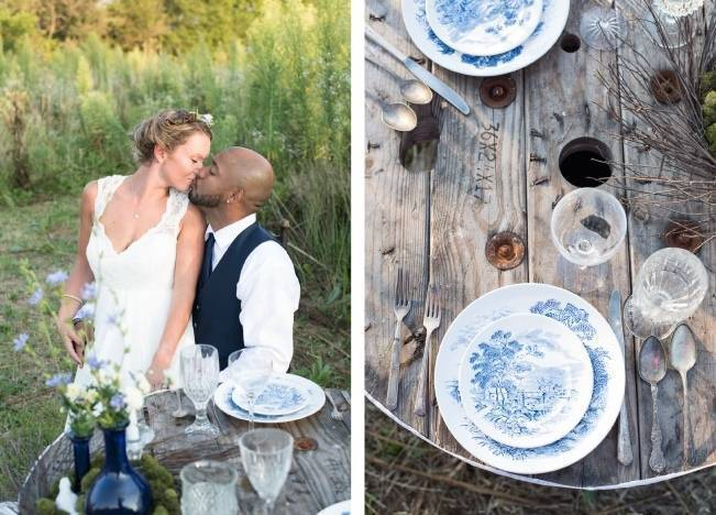 French Country Toile Inspired Anniversary Shoot 13