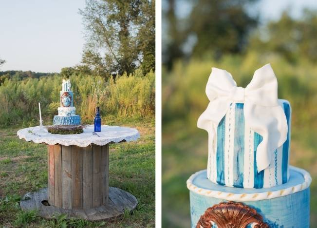 French Country Toile Inspired Anniversary Shoot 17