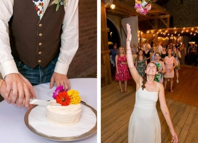 Funky & Bright Farmhouse Wedding {M & E Photo} 23