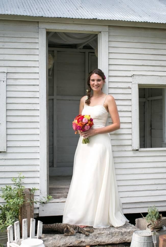 Funky & Bright Farmhouse Wedding {M & E Photo} 4