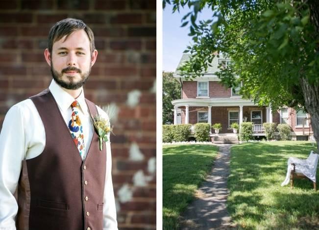 Funky & Bright Farmhouse Wedding {M & E Photo} 6