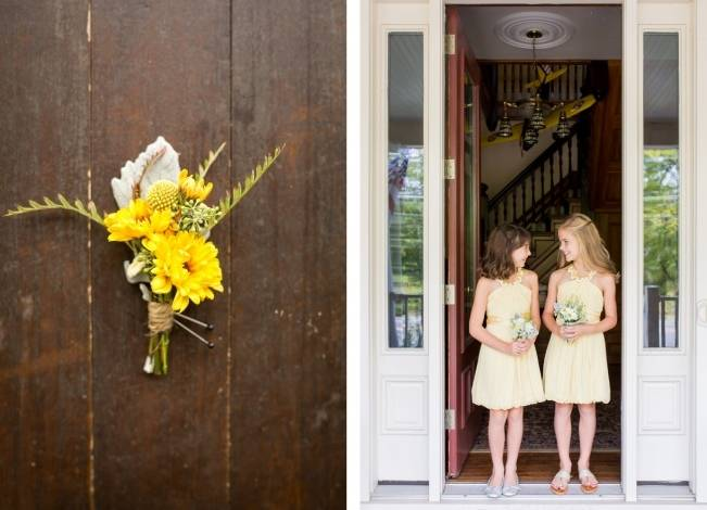 Rustic Outdoor Yellow and Grey Wedding {Idalia Photography} 4