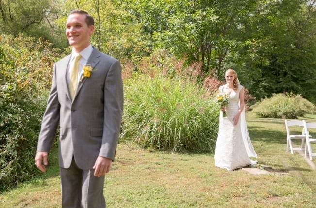 Rustic Outdoor Yellow and Grey Wedding {Idalia Photography} 9