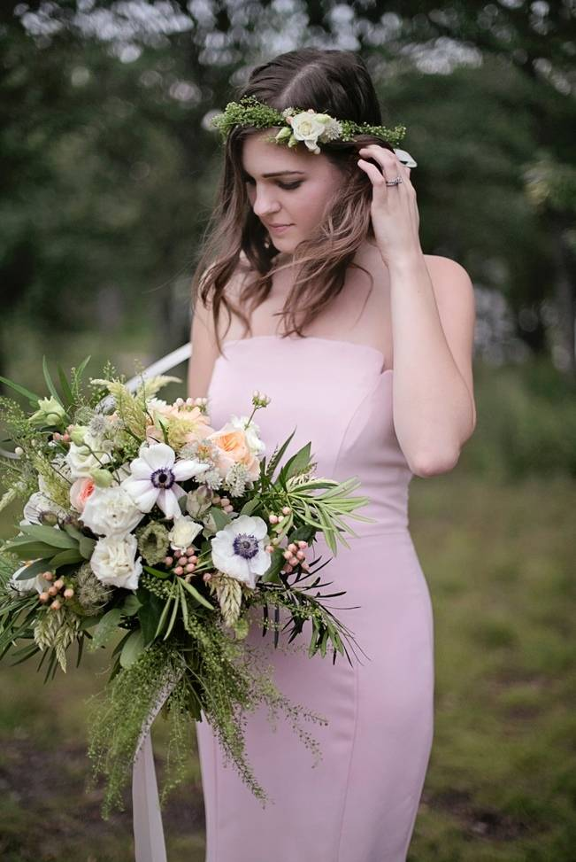 Woodsy Glamour Bridal Shoot {Bella Notte Photography} 1